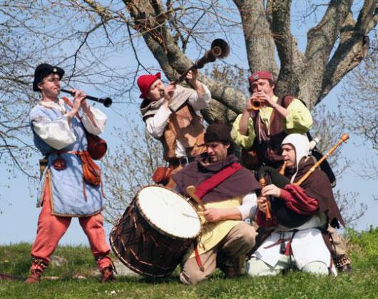 compagnie Waraok - fanfare médiévale de Bretagne - ouest de la france
